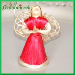 Aniołek 5cm czerwony 3208