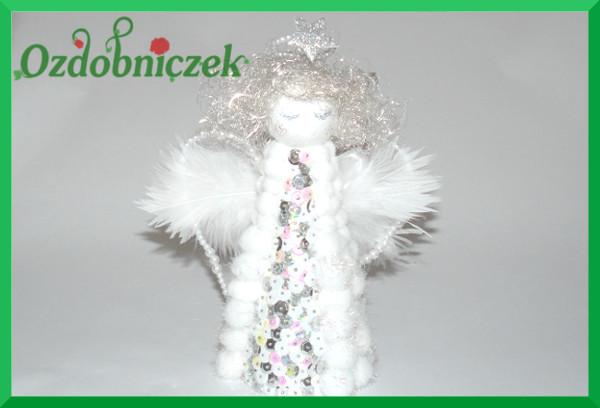 aniołek z pomponów