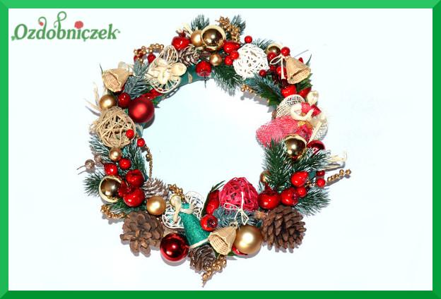 Wianek Stroik Na Boże Narodzenie Samouczki Ozdobniczka