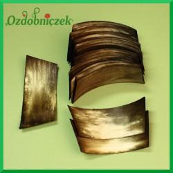 Elementy do złożenia rożka 100szt. ciemna oliwka