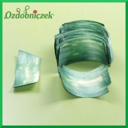 Elementy do złożenia rożka 100szt. zielone
