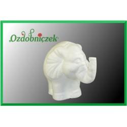 Słonik styropianowy 12 cm mały