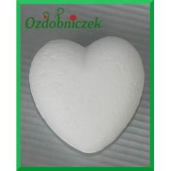 Serce styropianowe małe 4cm wypukłe