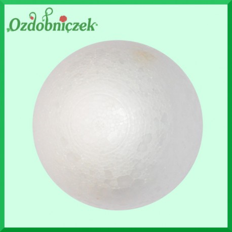 Kula styropianowa 8cm IMPORT