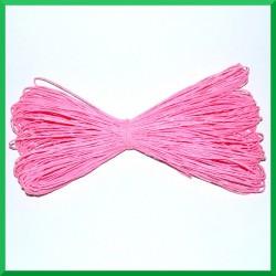 Sznurek papierowy różowy 45mb