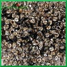 Cekiny srebrne z czarnymi paskami 5g/350szt.