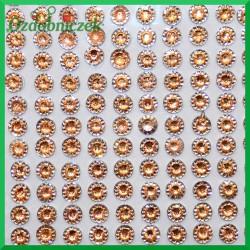 Mini kwiatuszki samoprzylepne 247 sztuk złote