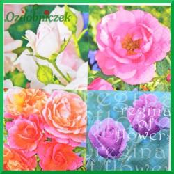 Serwetka do decoupage cztery róże