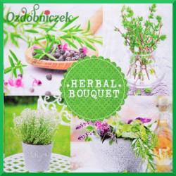 Serwetka do decoupage zioła