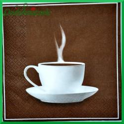Serwetka do decoupage filiżanka kawy