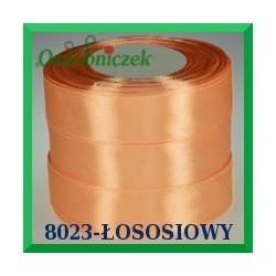 Tasiemka satynowa 12mm kolor łososiowy 8023