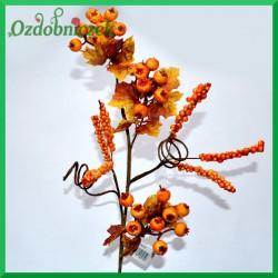 Jesienna gałązka dekoracyjna 50cm