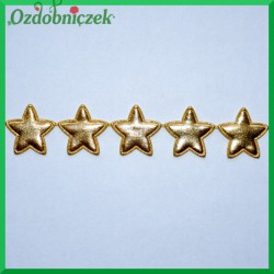 Aplikacje gwiazdki złote puchowe