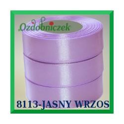 Tasiemka satynowa 12mm kolor wrzosowy 8113