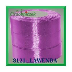 Tasiemka satynowa 25mm kolor lawendowy 8121