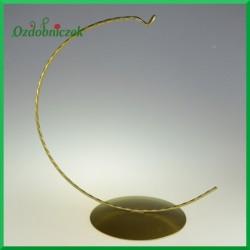 Stojak na jajko złoty 12cm Wieszak