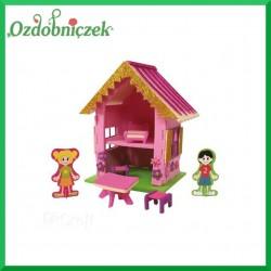 Domek z pianki 3D