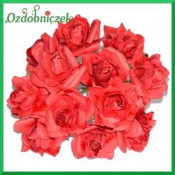 BORDOWE Różyczki papierowe 3cm 20szt.