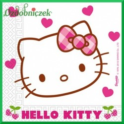 Serwetka do decoupage Hello Kity