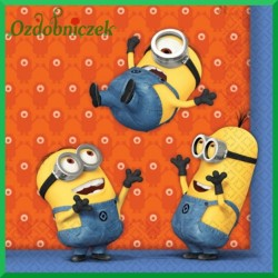 Serwetka do decoupage Minionki