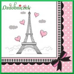 Serwetka do decoupage Paryż 24x24cm