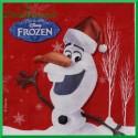 Serwetka do decoupage Olaf świąteczny-Kraina Lodu