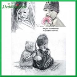 Papier do decoupage SOFT A4 - dzieci S039