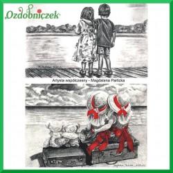 Papier do decoupage SOFT A4 - dzieci i widoki S040