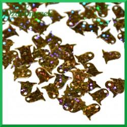 Cekiny dzwonki złote laserowe 15g