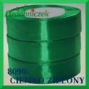 Wstążka tasiemka satynowa 38mm kolor ciemny zielony 8090