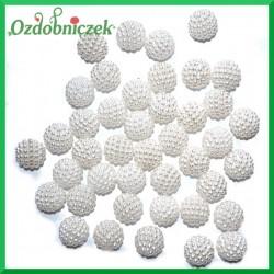 Koraliki perłowe jeżynki 14mm / 50g