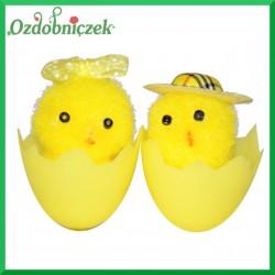 Kurczaczki ozdobne w skorupce - para