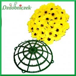 Koło - plastikowa baza do kwiatów 25cm