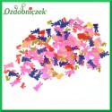 Cekiny zajączki pisklaki 20mm/10g mix kolorów