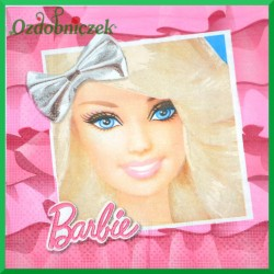 Serwetka do decoupage Barbie