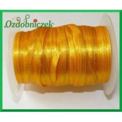 Tasiemka atłasowa 3mm 5m żółta