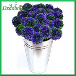 FIOLETOWY kwiat cebuli 40cm