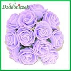 WRZOSOWE różyczki Z PIANKI 2,5cm 12szt.