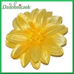 DALIA głowka kwiatowa 12CM ŻÓŁTA