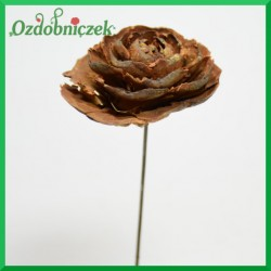 Cedrowa róża na piku HURT 10cm/10szt.