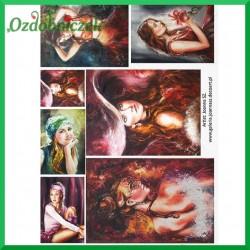 Papier ryżowy A4 R1244 - obrazy kobiet III