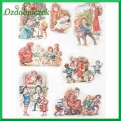Papier ryżowy A4 R0998 - wesołe dzieci