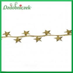 Gwiazdki małe NA TAŚMIE złote
