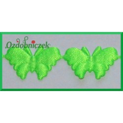 Aplikacje motylki  jasne zielone