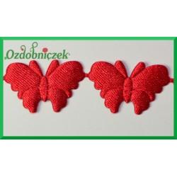 Aplikacje motylki czerwone