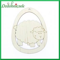 Jajko zawieszka owieczka nr 29