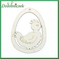 Jajko zawieszka zarozumiały kurczak nr 31
