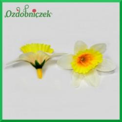 ŻONKILE BIAŁO-ŻÓŁTE - zestaw kwiatuszków 60szt.