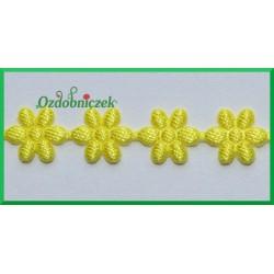 Aplikacje kwiatuszki malutkie cytrynowe
