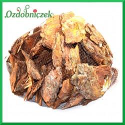 Plastry kory POMARAŃCZOWE 12-15CM SIATKA 1kg